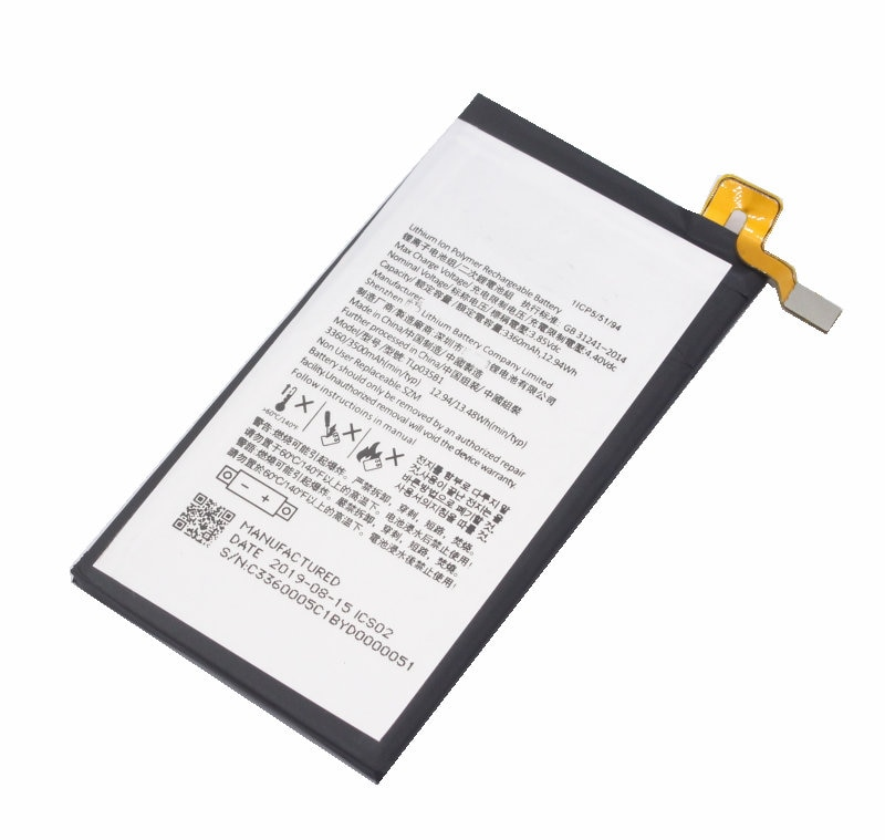Replacement Battery TLp029C1 Compatible with BlackBerry KEYtwo LE Key2 LE